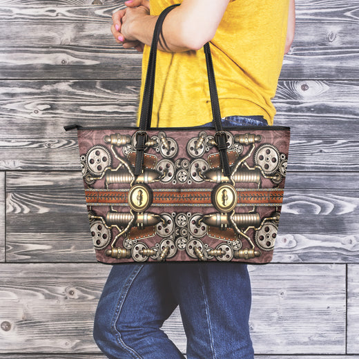 Steam Pipe Large Tote Bag
