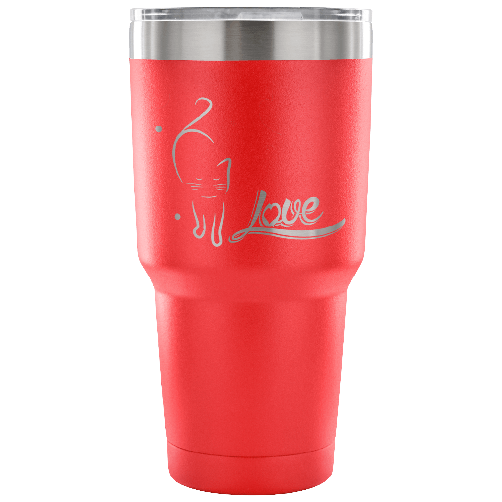 Love Cat II Tumbler - Hello Moa