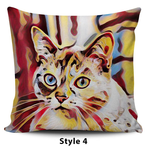 Image of Art III Cat Pillows