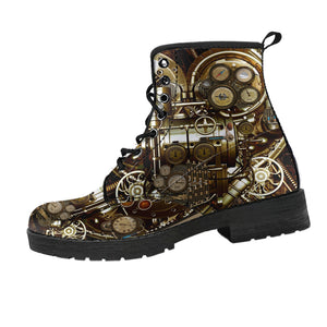 Steam-Mechanical Boots (Women's)