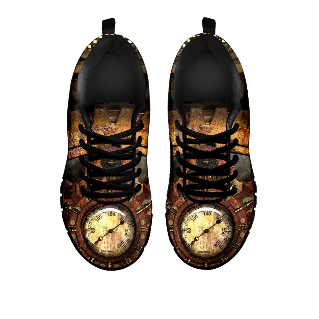 Steam Gauge Sneakers - Hello Moa