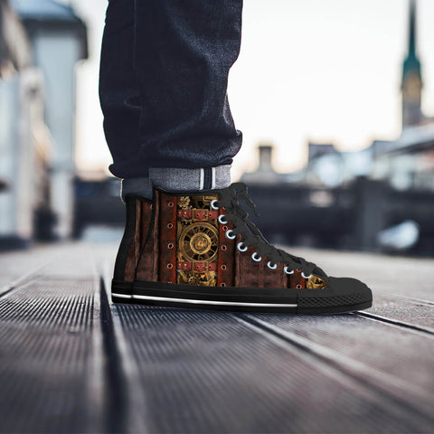 Image of Classic Steampunk Canvas Shoes
