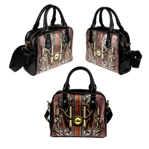 Steam Pipe Shoulder Handbag - Hello Moa