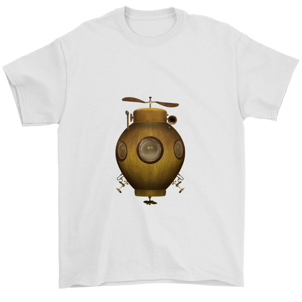 Steampunk Flying IV Tee