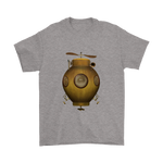 Steampunk Flying IV Tee - Hello Moa