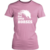 This Girl Loves Horses Shirts