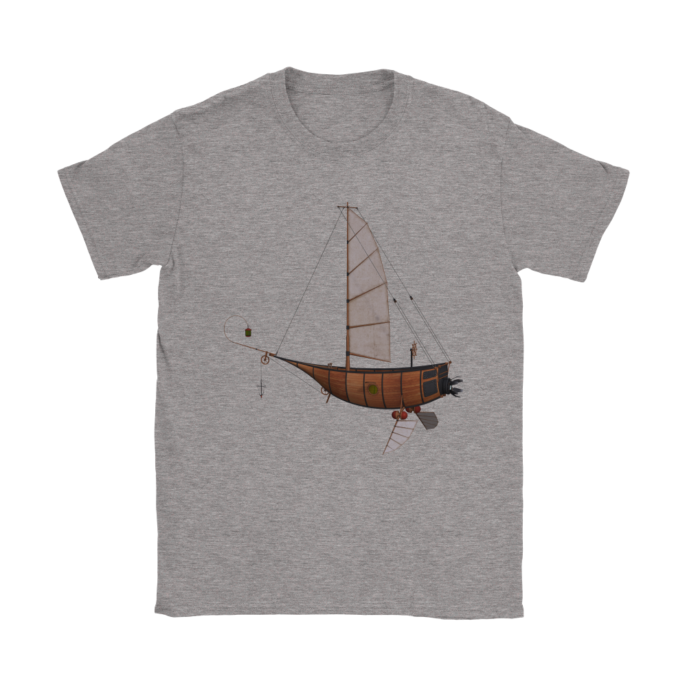 Steampunk Flying III Tee - Hello Moa