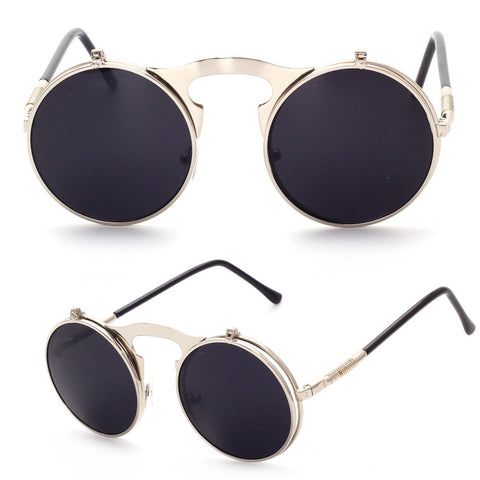 Steampunk Flip Lens Glasses
