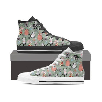Snugly Cat High Tops (Women's)