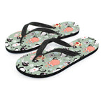 Snuggly Cat Flip Flops - Hello Moa