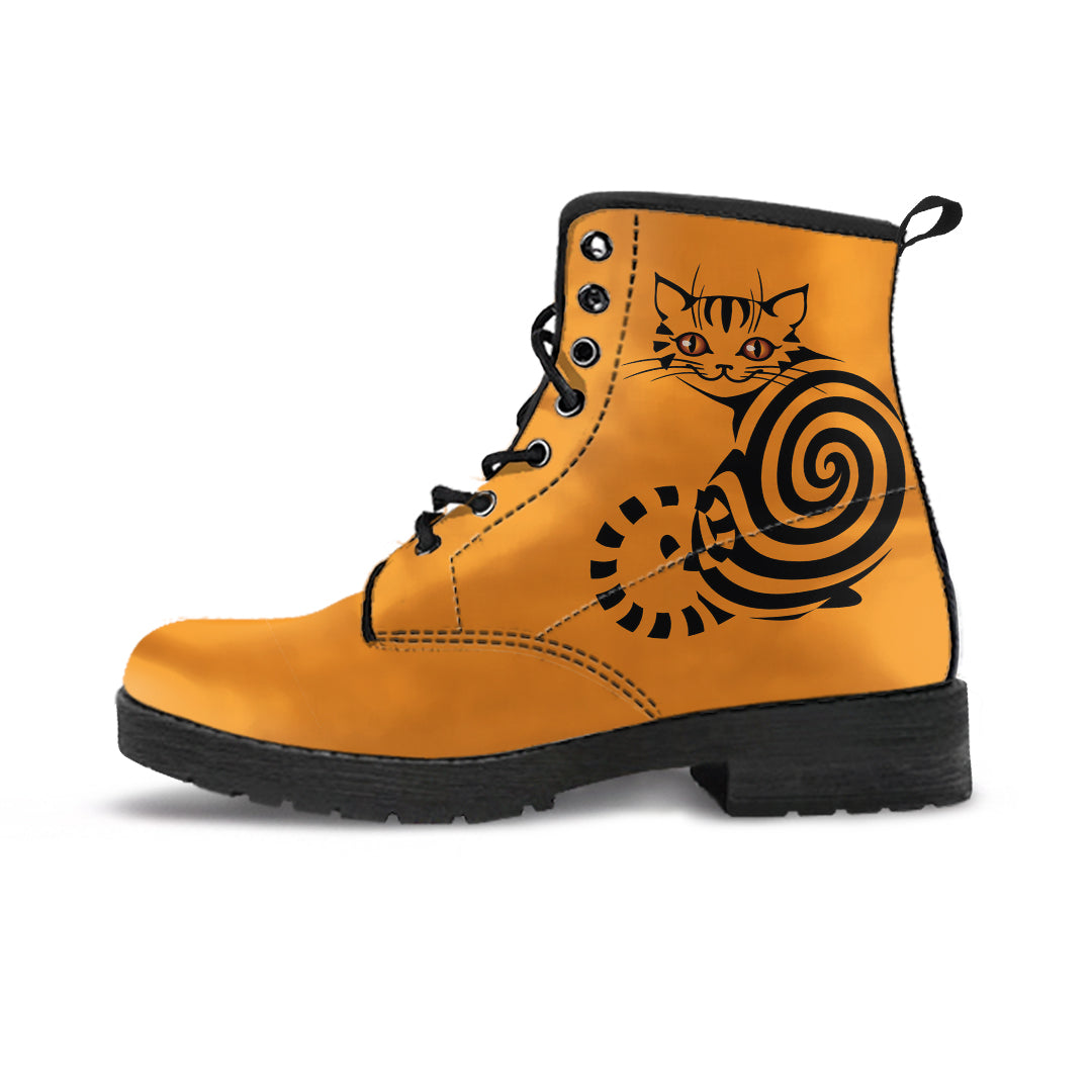 Spiral Cat Boots (Women's) - Hello Moa
