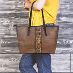 Steampunk Leather Tote Bag - Hello Moa