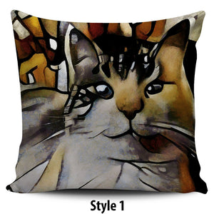 Art II Cat Pillow Covers - Hello Moa
