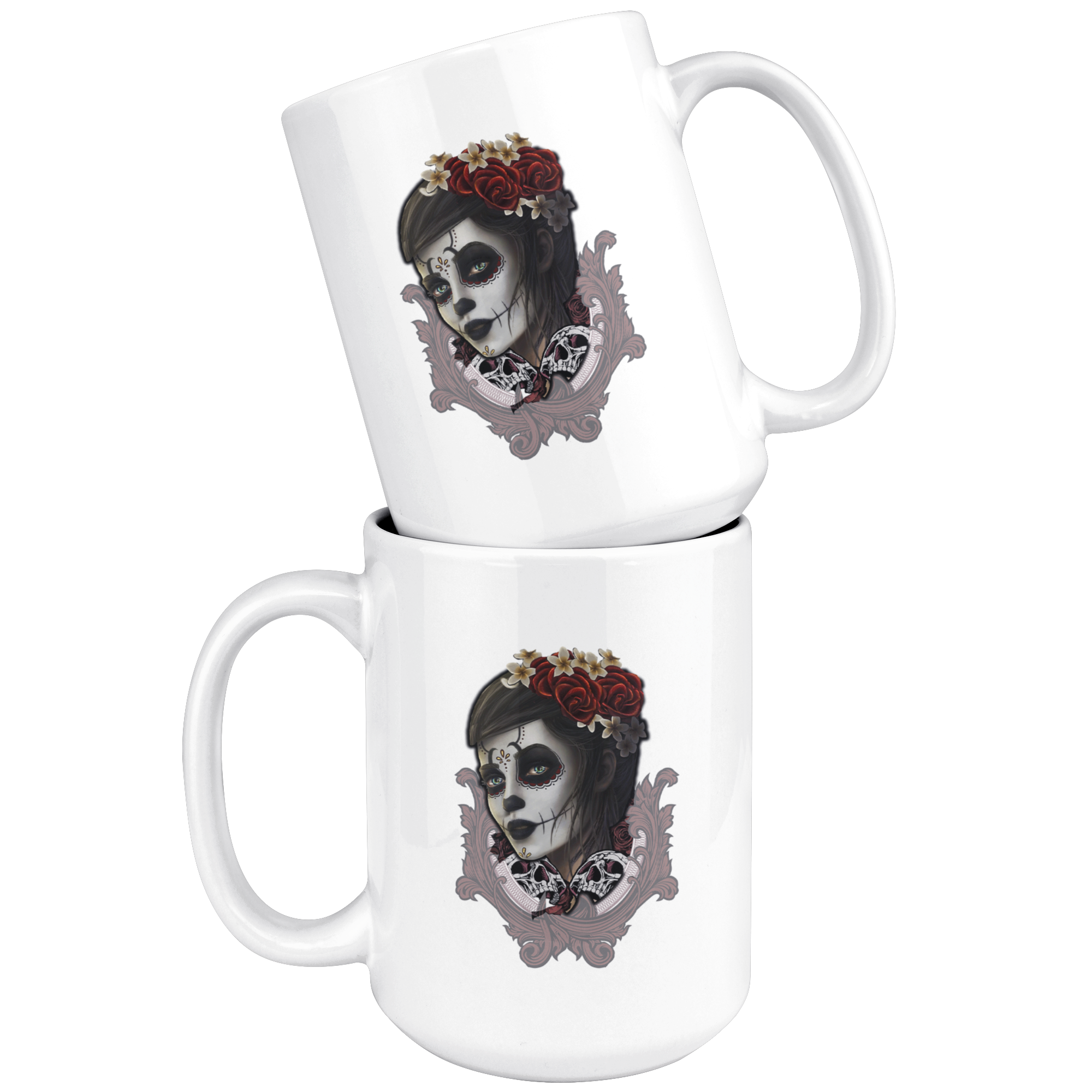 Sugar Skull Relic Coffee Mug - Hello Moa