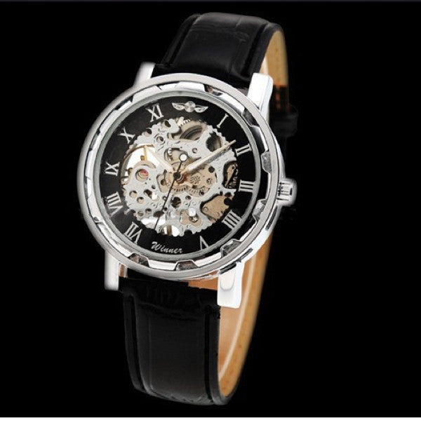 """The Roman"" Skeleton Watch"
