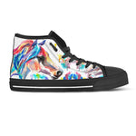 Watercolor Horse II Hi Top Shoes