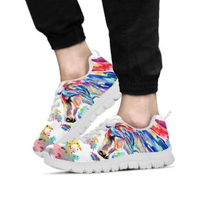 Watercolor Horse II Sneakers - Hello Moa