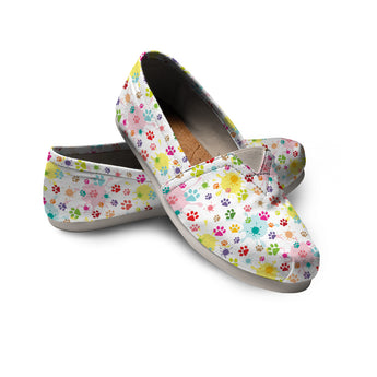 Watercolor Cat Casual Shoes