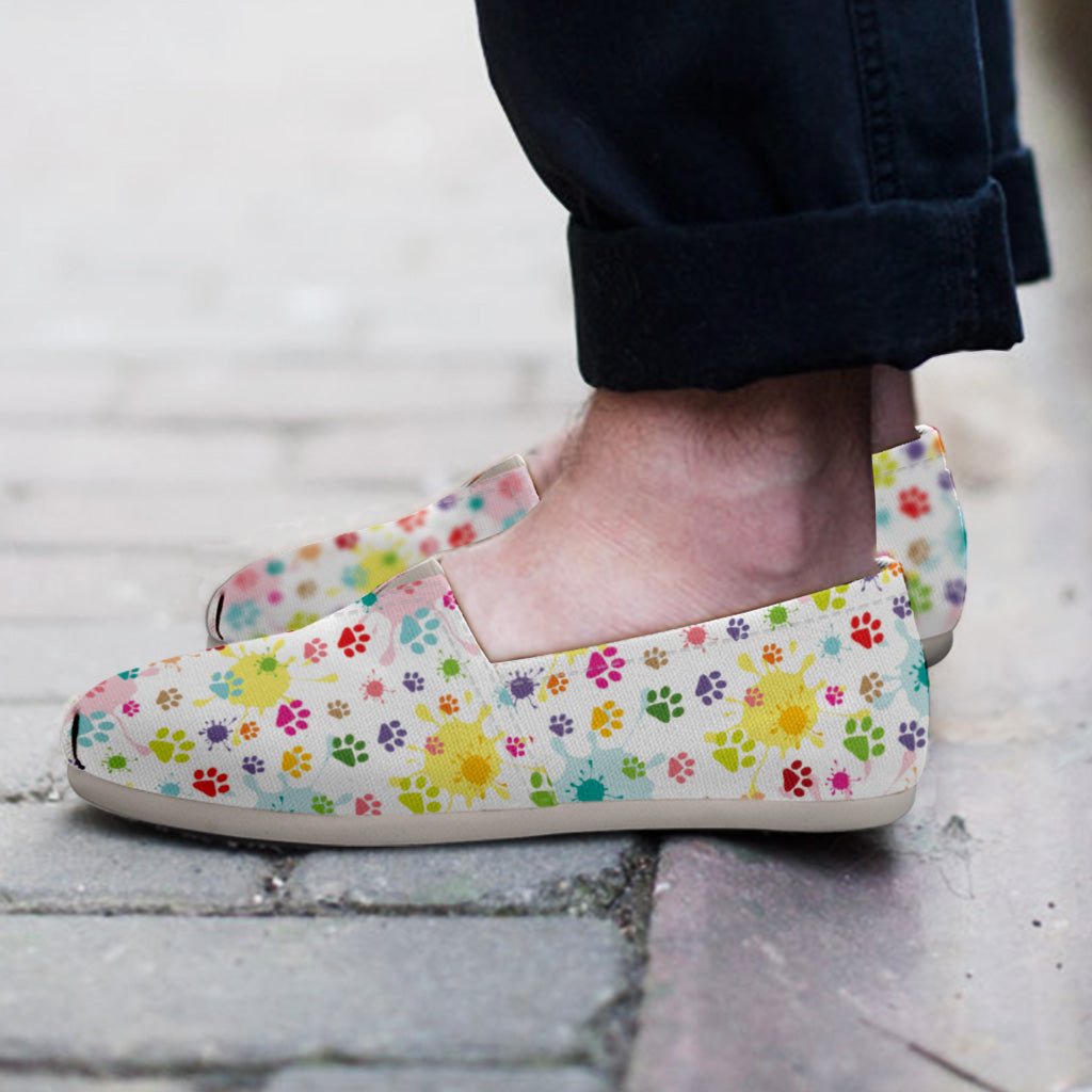 Watercolor Cat Casual Shoes - Hello Moa