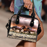 Horses in Waves Handbag - Hello Moa
