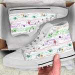 Cats & Wool Strings Canvas Hi Tops