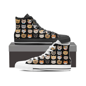 Adorable Cats High Tops - Hello Moa