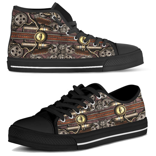 Steam Pipe Canvas Shoes