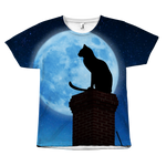 Moon Cat Tee - Hello Moa
