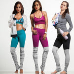 Socked Yoga Leggings - Hello Moa