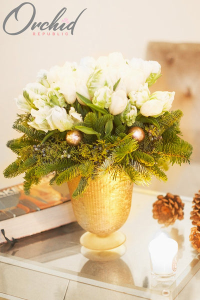5 Christmas Centerpieces To Warm Your Home Orchid Republic