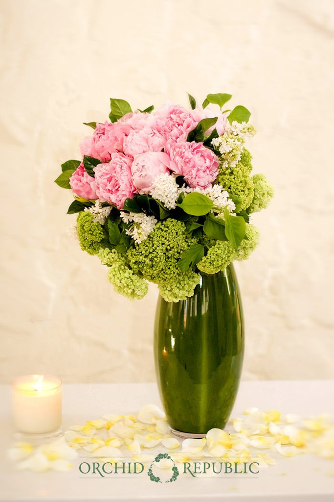 blushing in blooms flower arrangements
