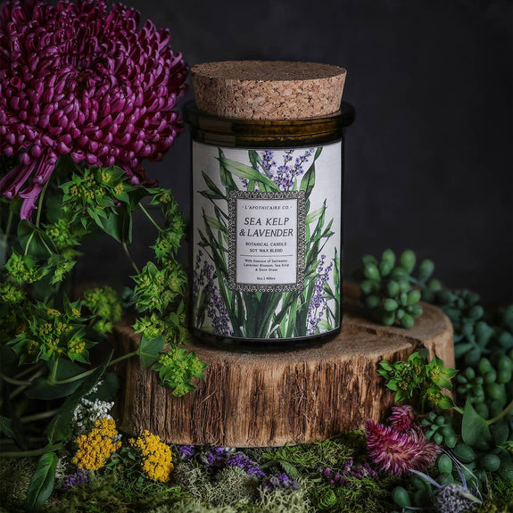 L'apothicaire Co Sea Kelp + Lavender | Candle