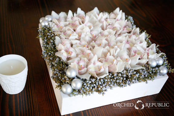 Christmas Orchid Box