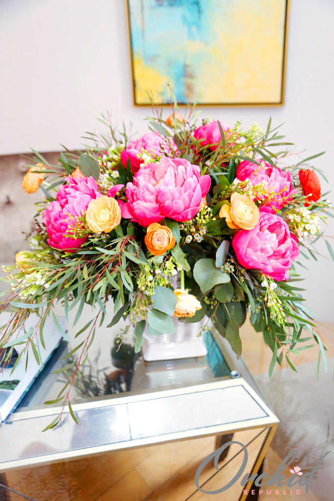 Whimsical Peonies