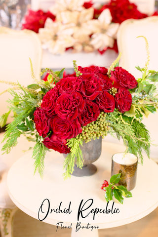 Cupid's Christmas Roses