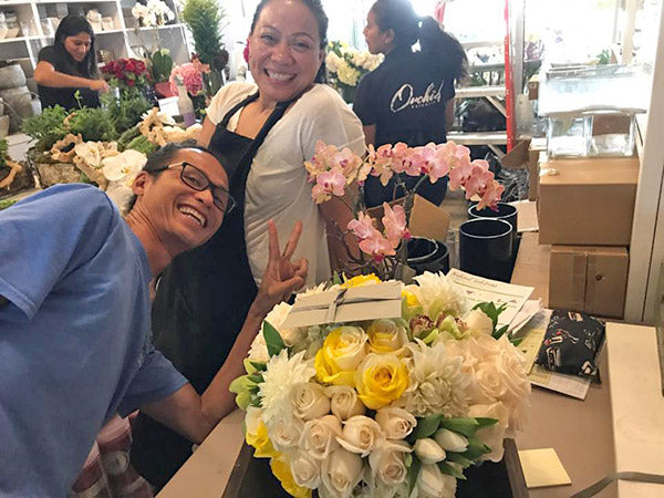 Happy Worker at Orchid Republic