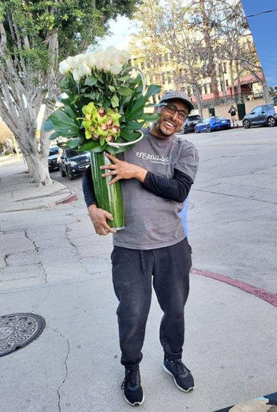 People at work Flower Delivery