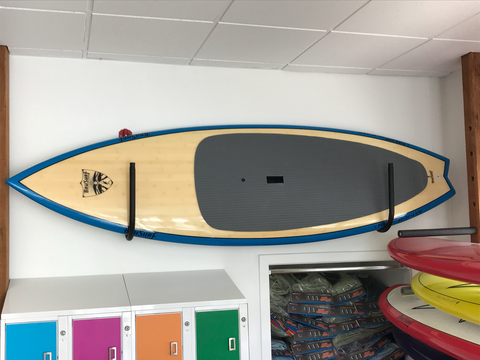 "9'2"" Blue Bamboo Puresurf by Brusurf"