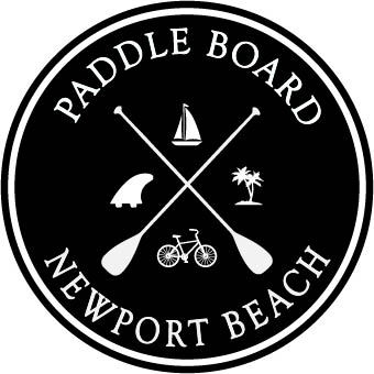 Paddle Board Newport Beach Sticker