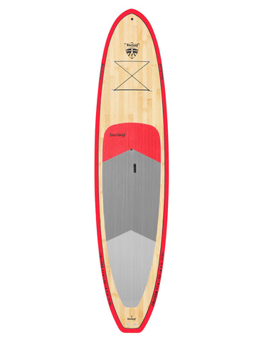 11'6 Cruiser Bamboo Paddle Board Package by Brusurf