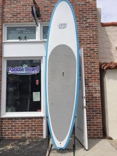 11'6 J-Bay Paddle Board - White and Blue