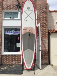 11'6 BruSurf Paddle Board - Red and White