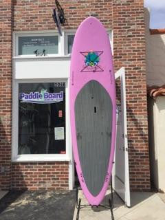 10'6 BruSurf Snapdragon Paddle Board - Pink