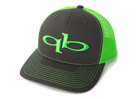 QuickBlade Trucker Hat - Grey/Green