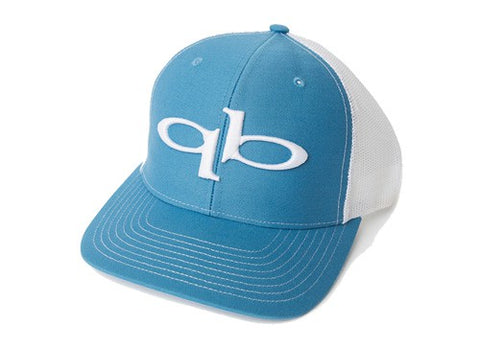 QuickBlade Trucker Hat - Blue/White