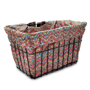 CC BASKET LINER STD SPRING FLOWER