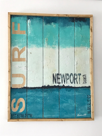 Surf Newport Artwork