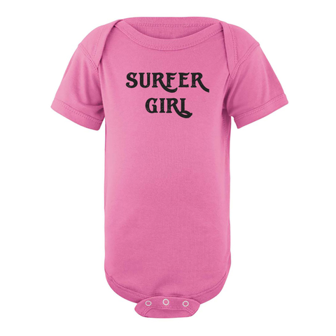 Paddle Board Newport Beach SURFER GIRL Infant One Piece