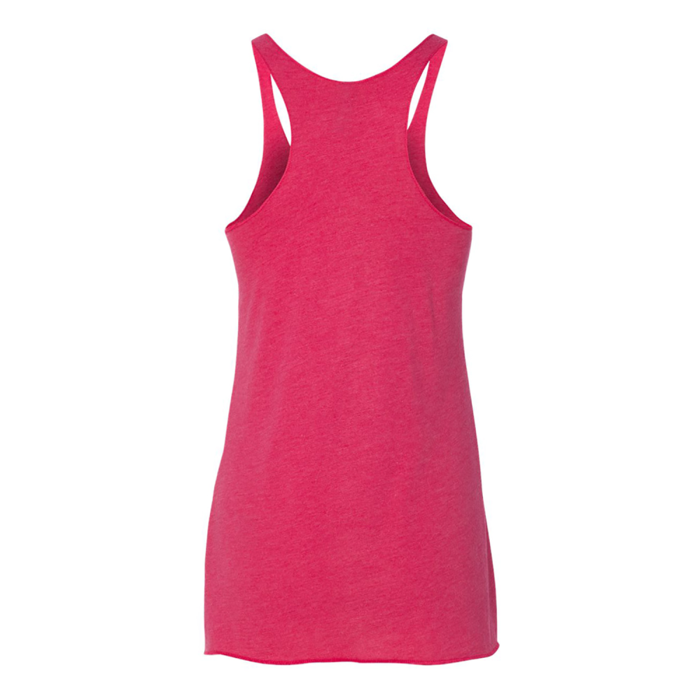 PADDLE WINE REPEAT Women's Triblend Racerback Tank