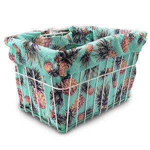 CC BASKET LINER PINEAPPLE MINT